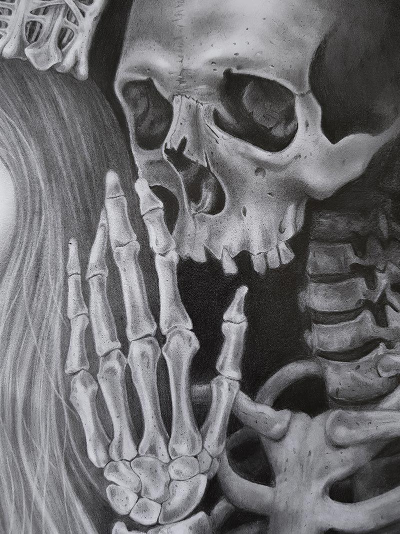 Amelia Hofsteede - Unspoken (Detail 2)