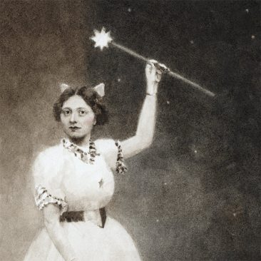 Benz and Chang - Fairy Godmother, 1911 (Detail 1)