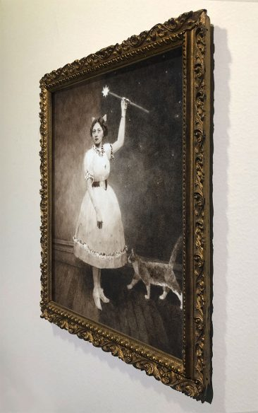 Benz and Chang - Fairy Godmother, 1911 (Framed - Side)