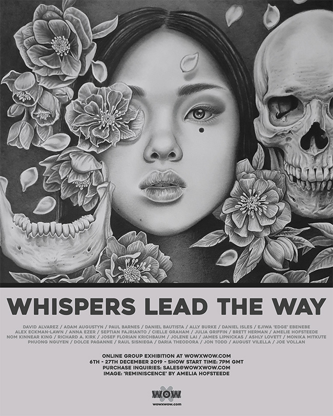 Whispers Lead the Way - Flyer