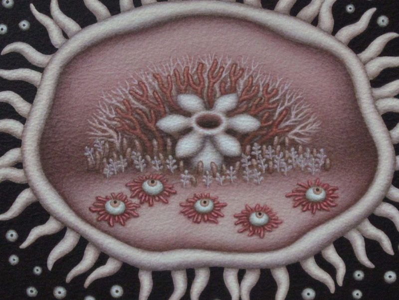 Catriona Secker - Flower (Detail)