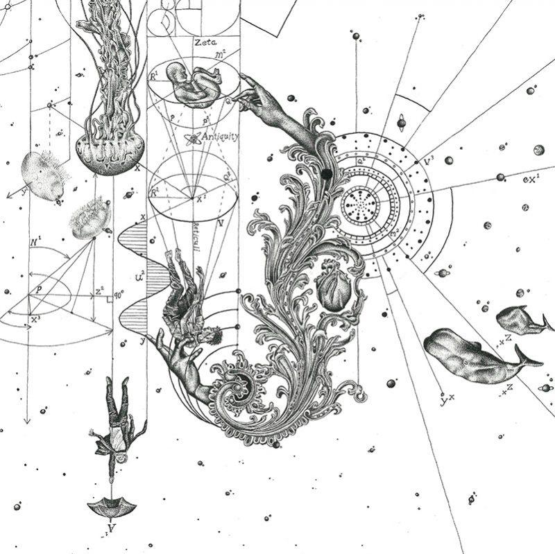 DantesDots - The Shape of Gravity (Detail 4)