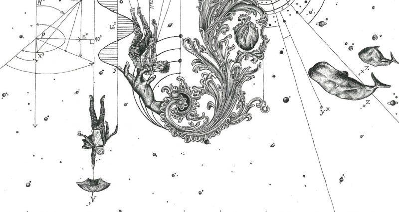 DantesDots - The Shape of Gravity (Detail 5)
