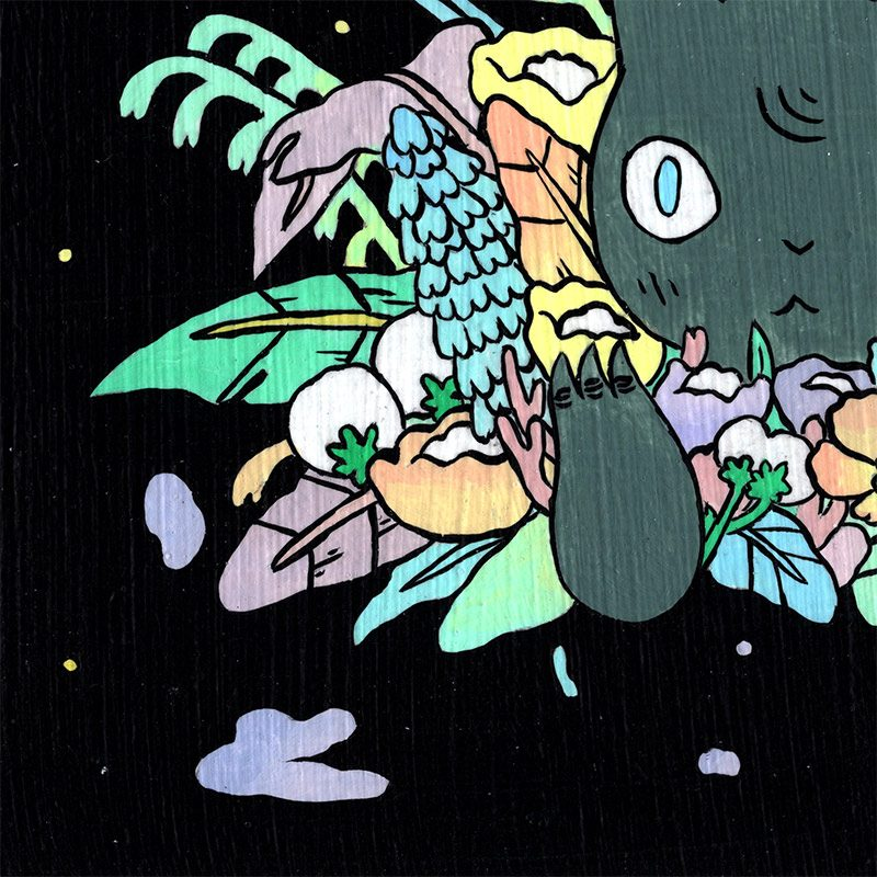 Deth P. Sun - Bloom (Detail 2)