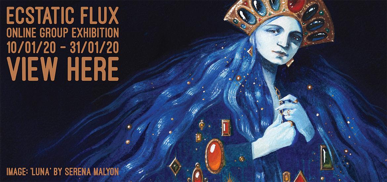 Ecstatic Flux - Website Banner (Serena Malyon)