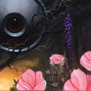 Gunnar Foley - The Moon Bird (Detail 1)