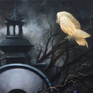 Gunnar Foley - The Moon Bird (Detail 2)