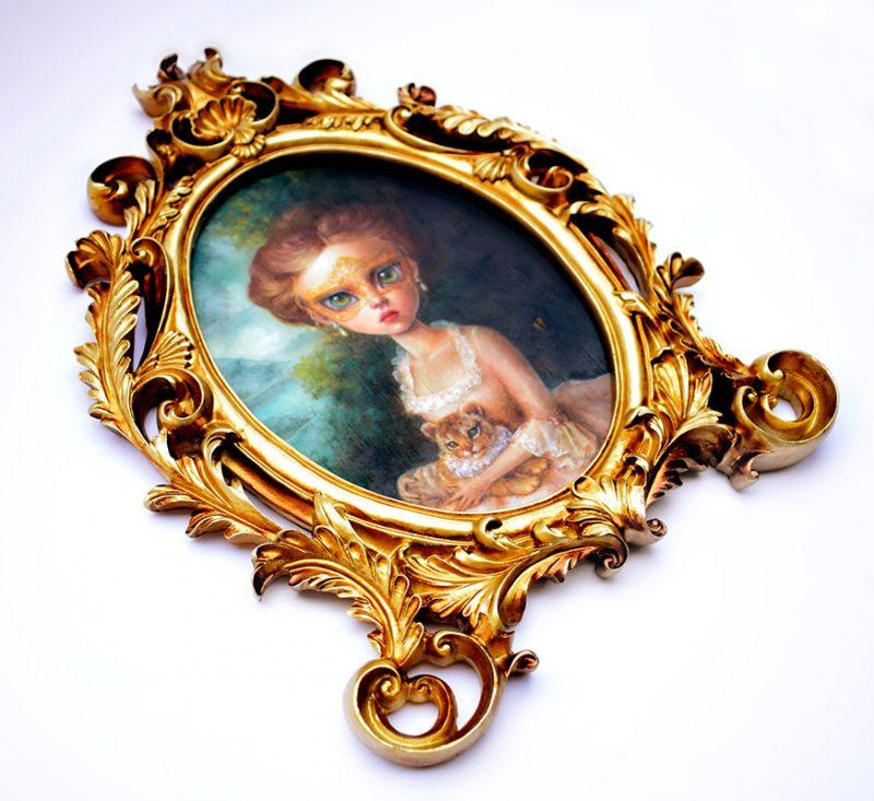 Karla Pereira - The Masquerade (Framed - Side)