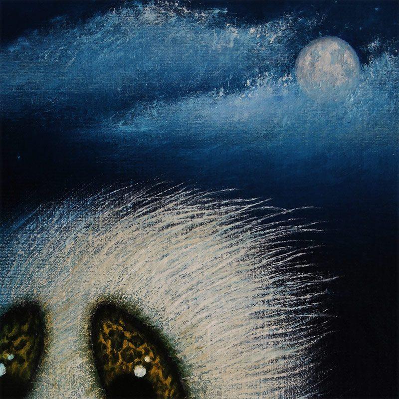 August Vilella - Night Flowers (Detail 1)