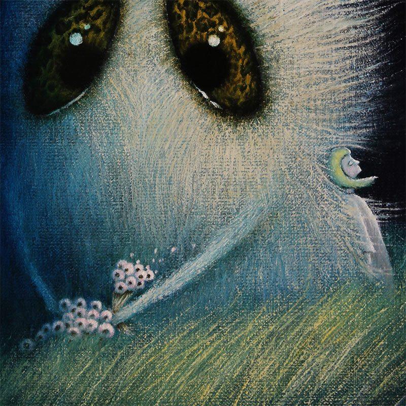 August Vilella - Night Flowers (Detail 2)