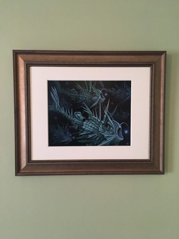Brendon Flynn - Feeding Light (Framed - Front)