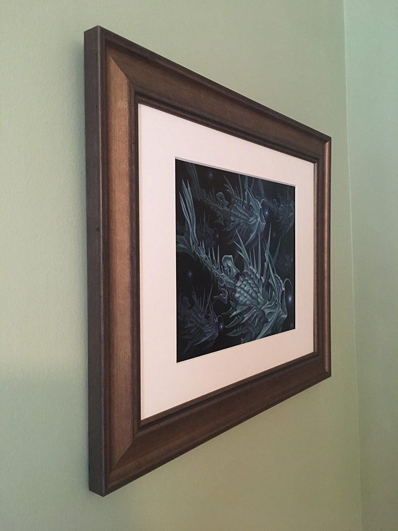 Brendon Flynn - Feeding Light (Framed - Side)