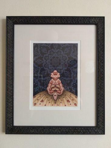 Catriona Secker - Flesh Totem (Framed)