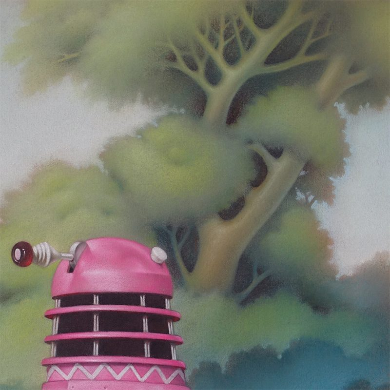Declan Lee - Dalek (Detail 1)