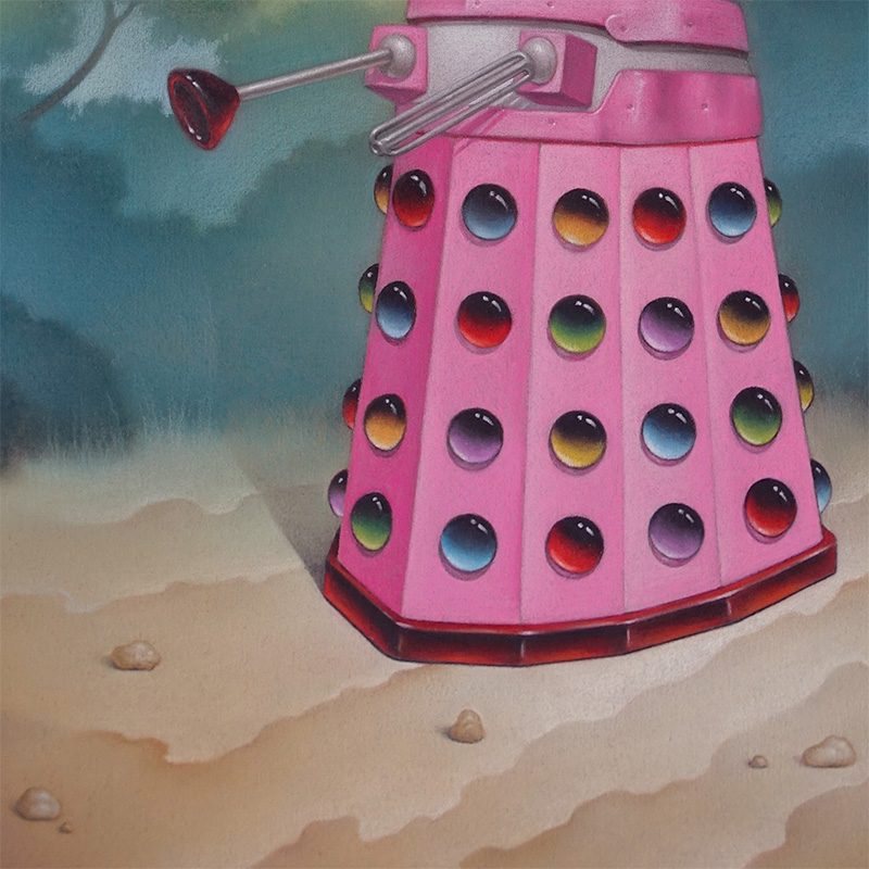 Declan Lee - Dalek (Detail 2)