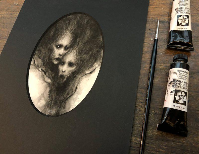 Iris Compiet - Mysts (Detail 2)