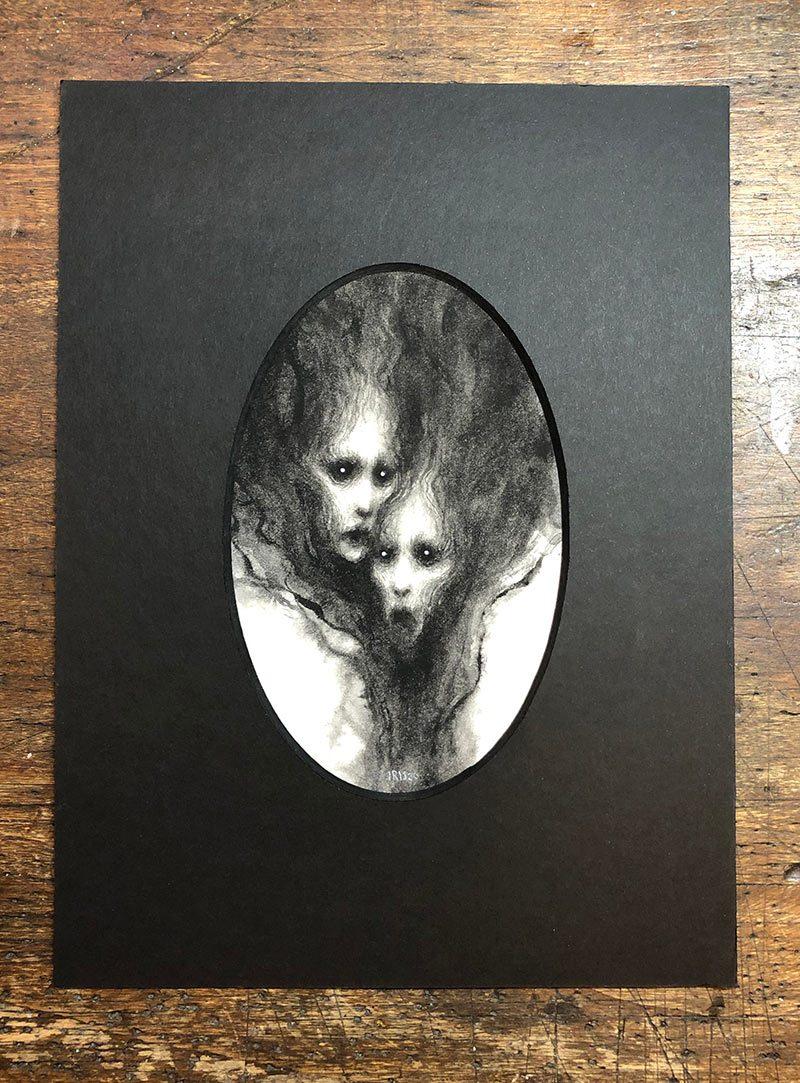 Iris Compiet - Mysts (Mounted)