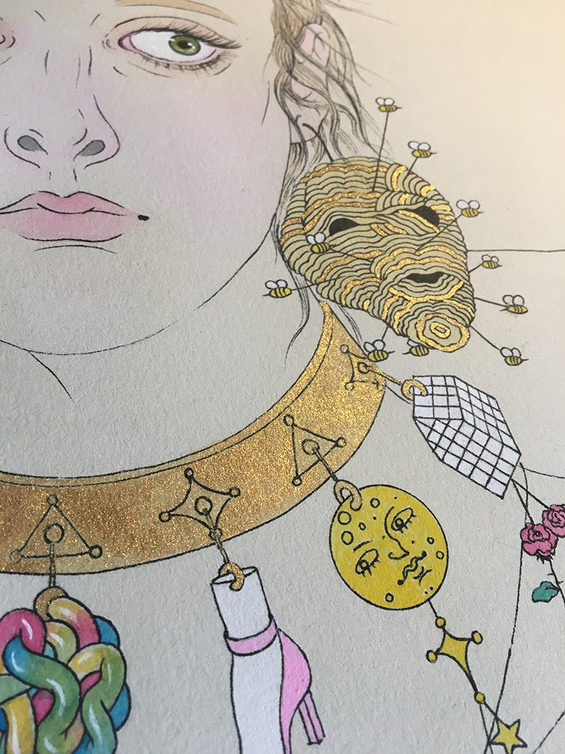 Jenna Andersen - Adorned (Detail 5)