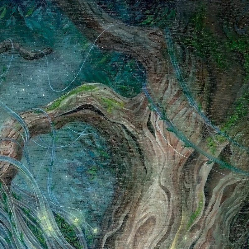 Kseniia Boko - The Heart of the Tree (Detail 1)