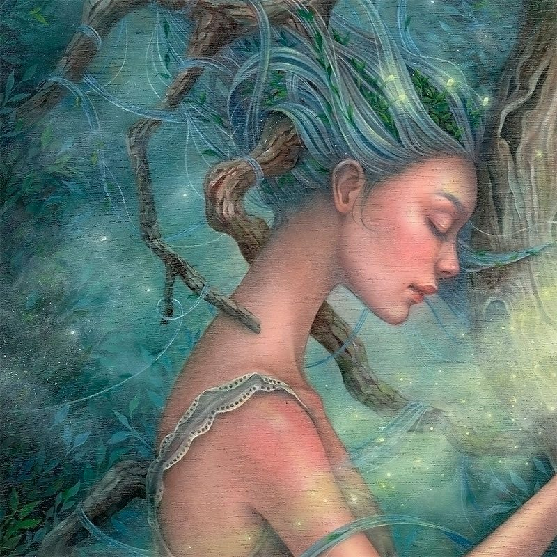 Kseniia Boko - The Heart of the Tree (Detail 2)