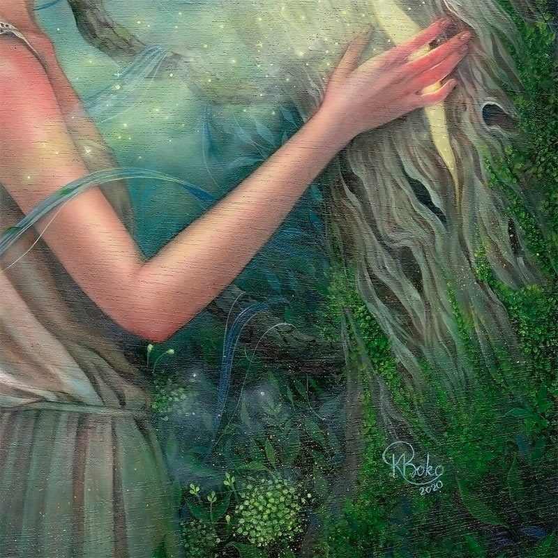 Kseniia Boko - The Heart of the Tree (Detail 3)