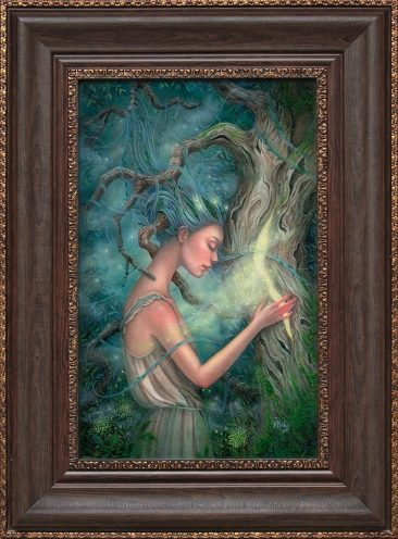 Kseniia Boko - The Heart of the Tree (Framed)