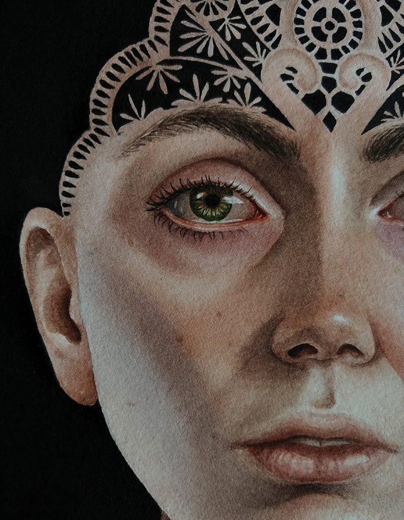 Lira Morina - Alchemy (Detail)