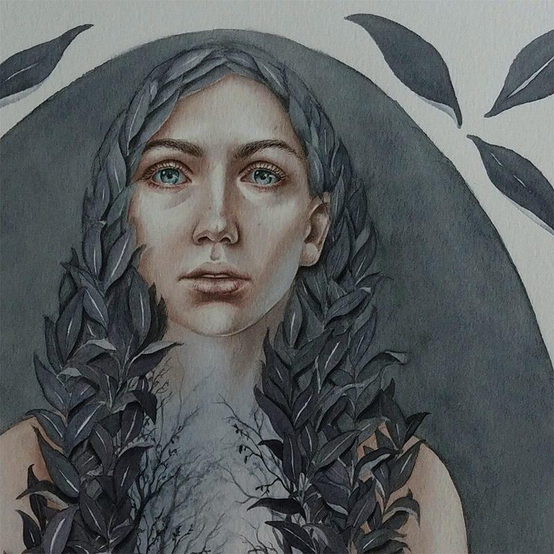Lira Morina - Sacred Place (Detail 1)