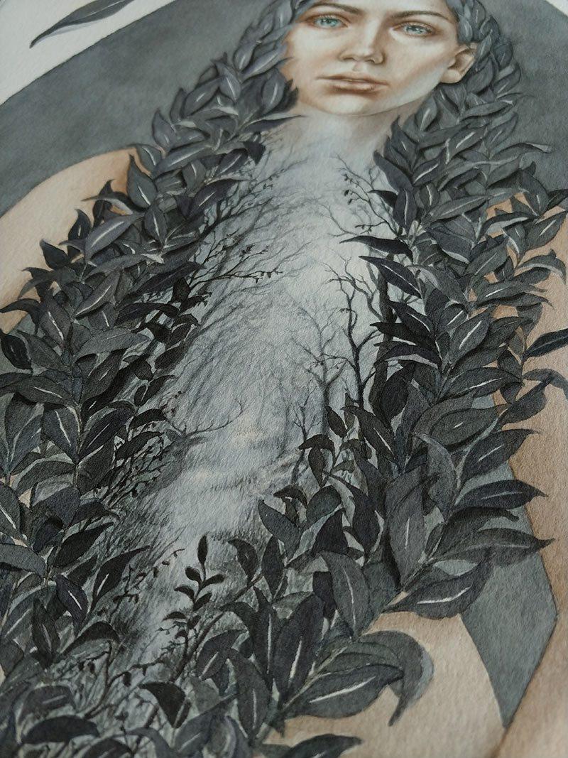 Lira Morina - Sacred Place (Detail 5)