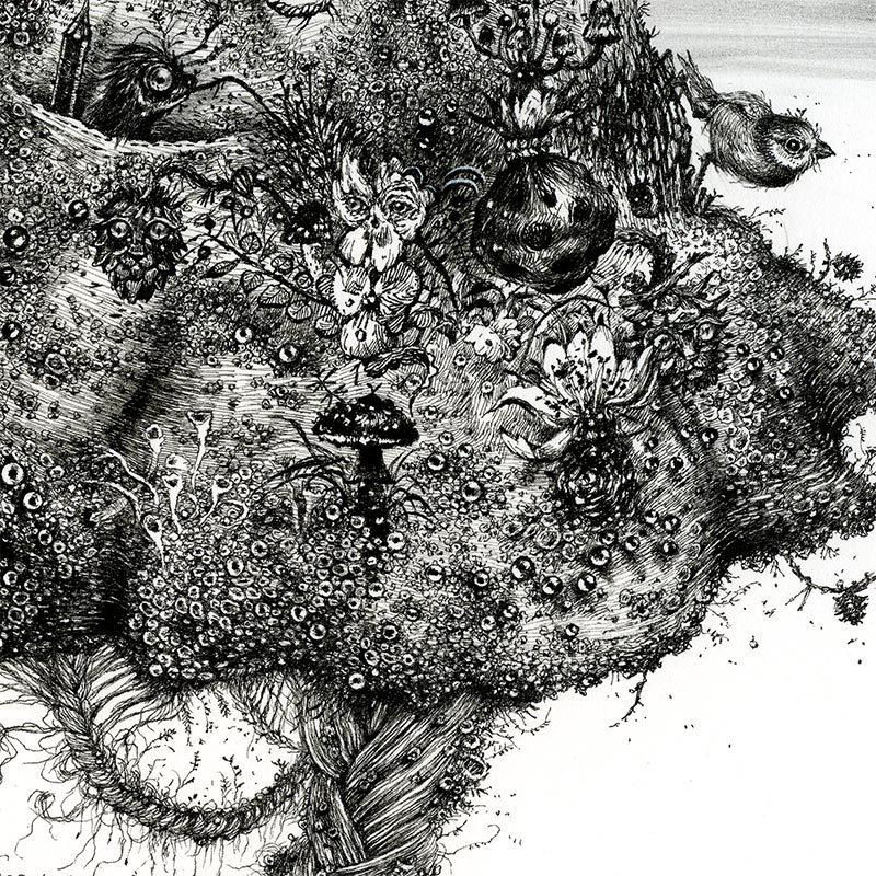 Monika Mitkute - Honeycomb Bride (Detail 2)