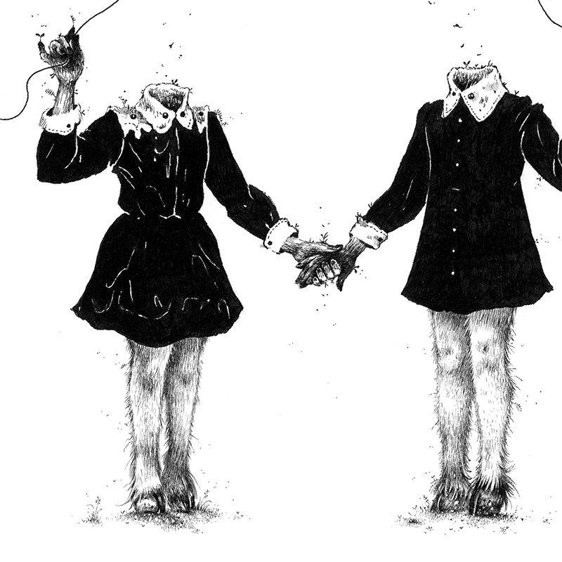 Monika Mitkute - Maeve & Ciara (Detail 2)