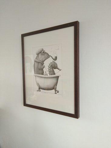 Redmer Hoekstra - Untitled I (Framed - Side)