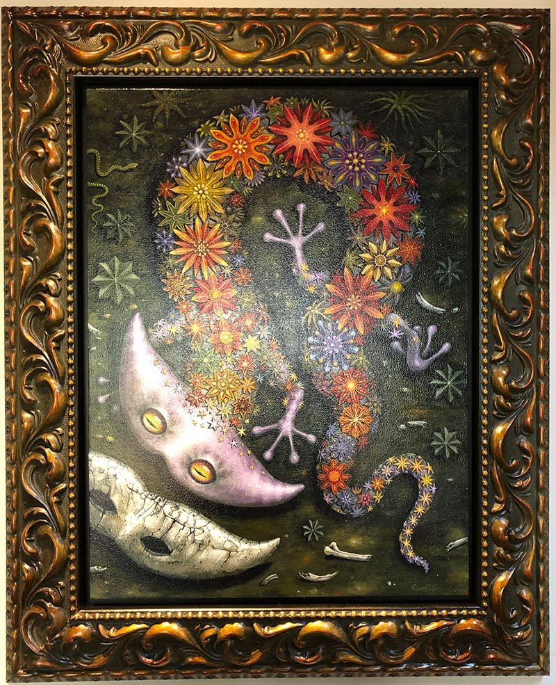 Robert Steven Connett - Starry Diplocalus (Framed)