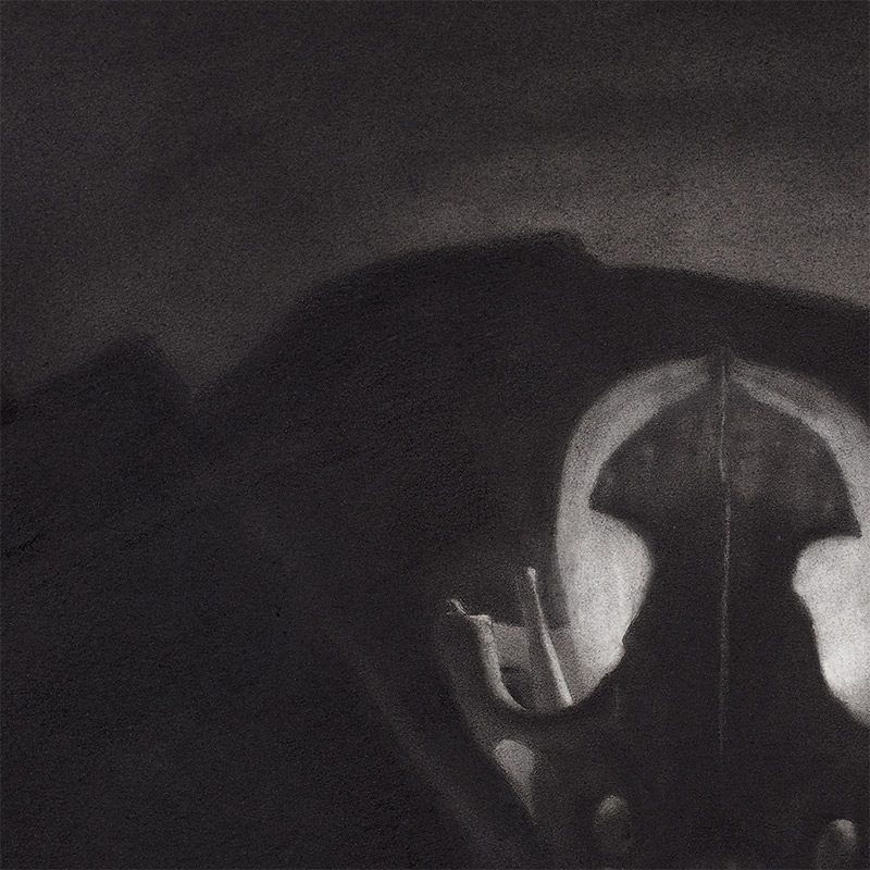 Zachary Oldenkamp - Untitled (campfire) - Detail 1