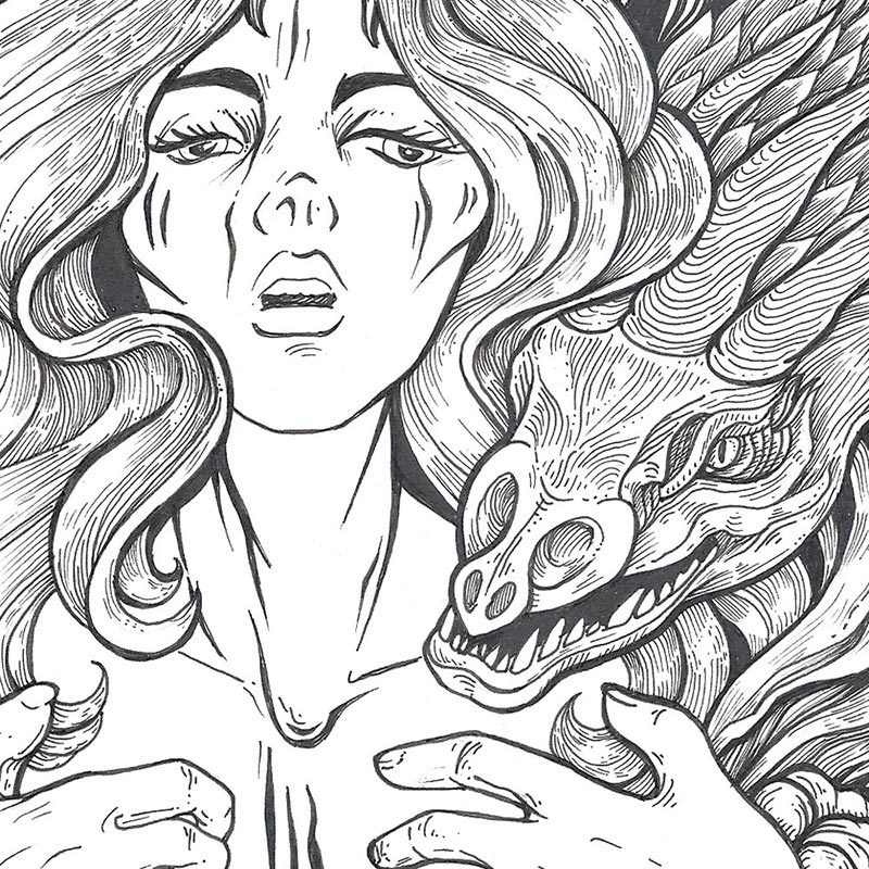 Anna Ezer - Ghosts (Detail 1)
