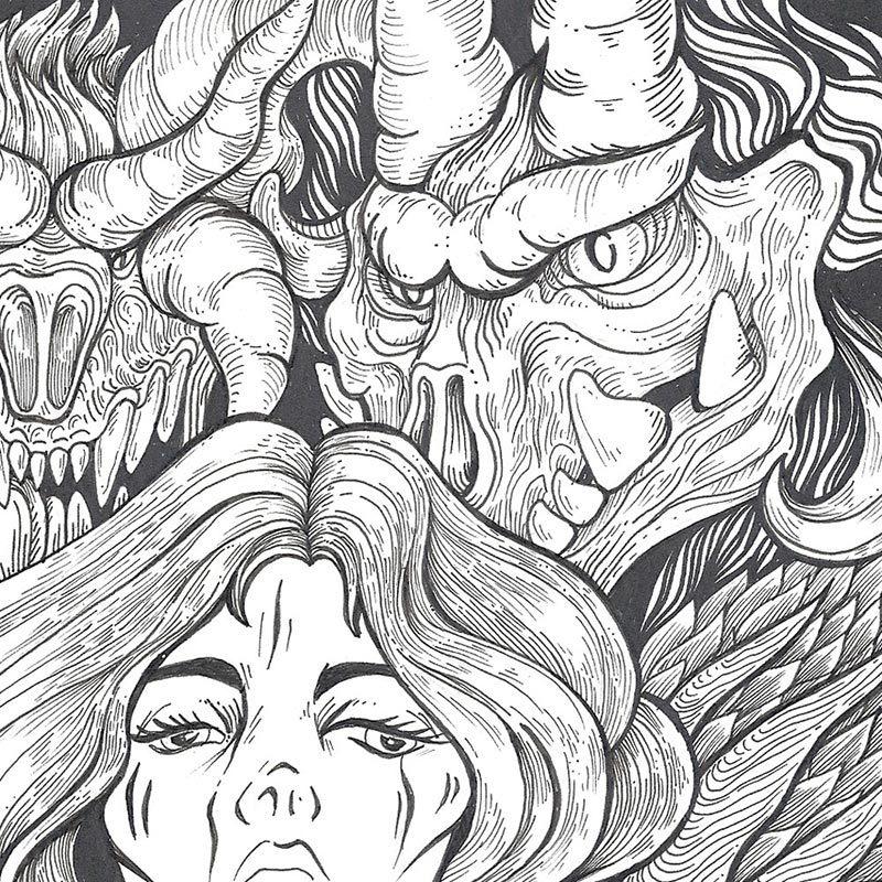 Anna Ezer - Ghosts (Detail 2)