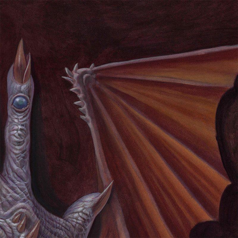 Brendon Flynn - The Hand Possessed (Detail 2)