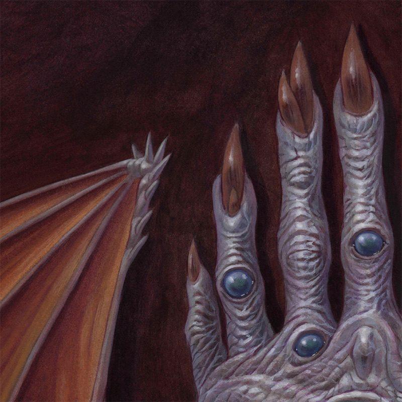 Brendon Flynn - The Hand Possessed (Detail 3)