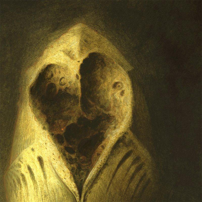 David Michael Wright - Dark Visages No 4 (Detail 1)