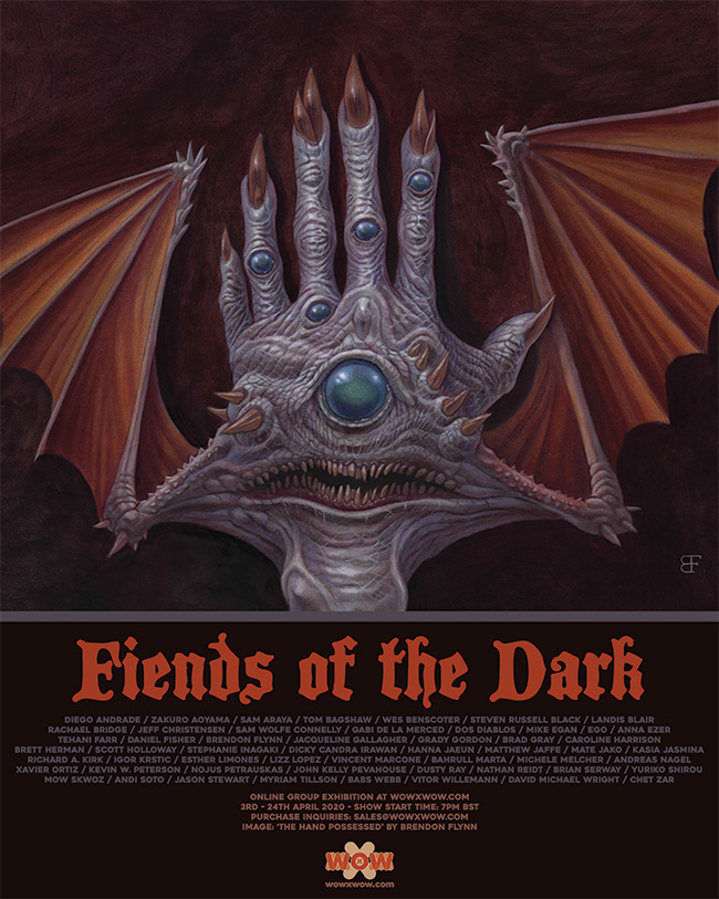 Fiends of the Dark - Flyer