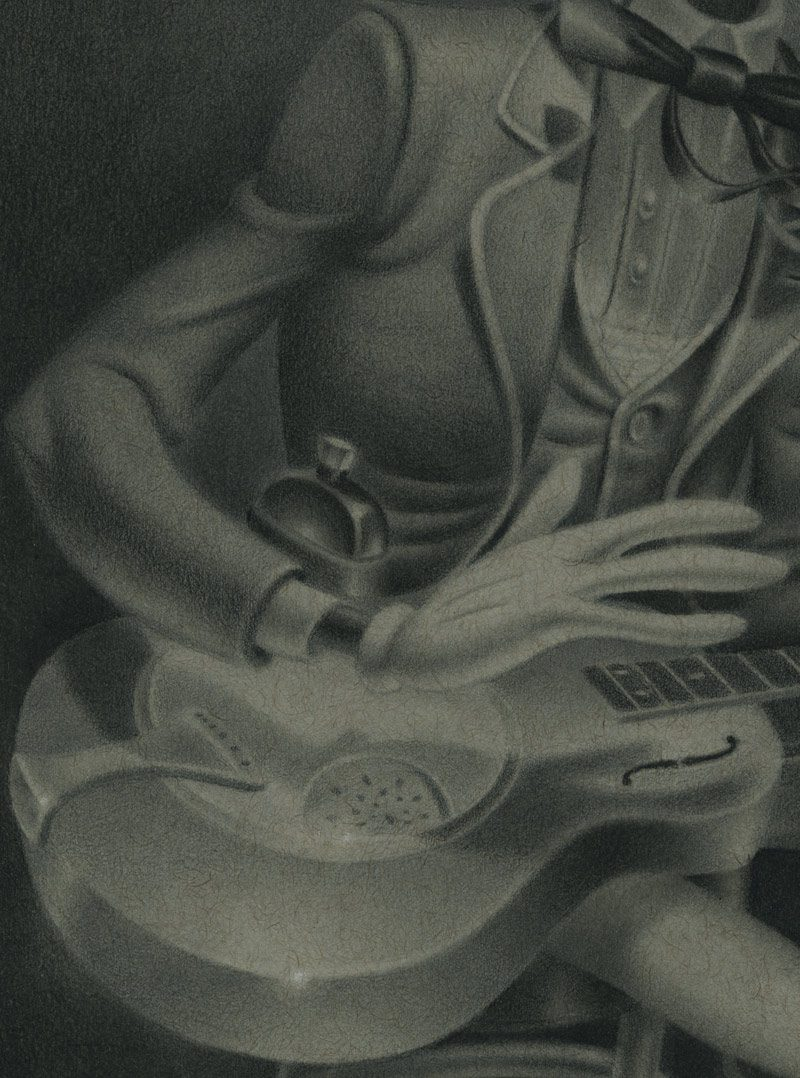 Gabi de la Merced - Son of the Revelator (Detail 2)