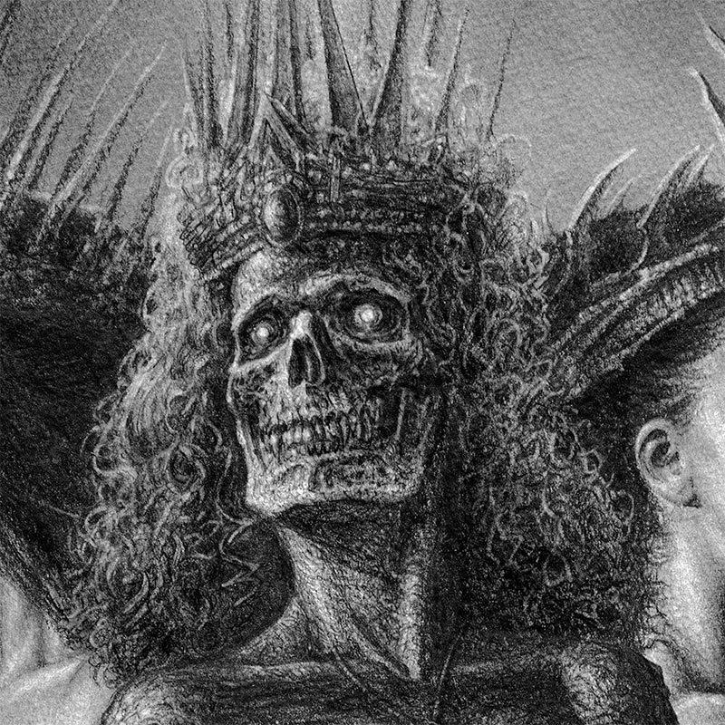 John Kelly Pevahouse - drei Hexen (Detail 1)