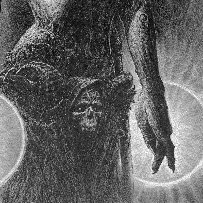 John Kelly Pevahouse - drei Hexen (Detail 3)