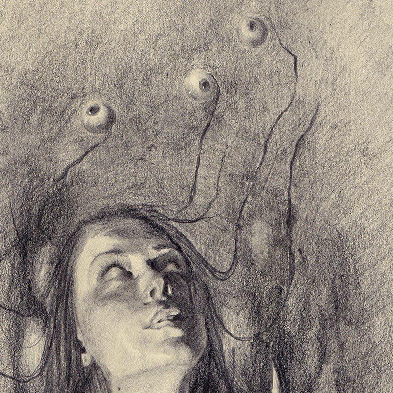 Lizz Lopez - The Watcher (Detail 1)