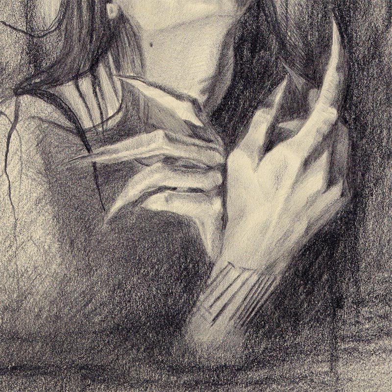 Lizz Lopez - The Watcher (Detail 2)
