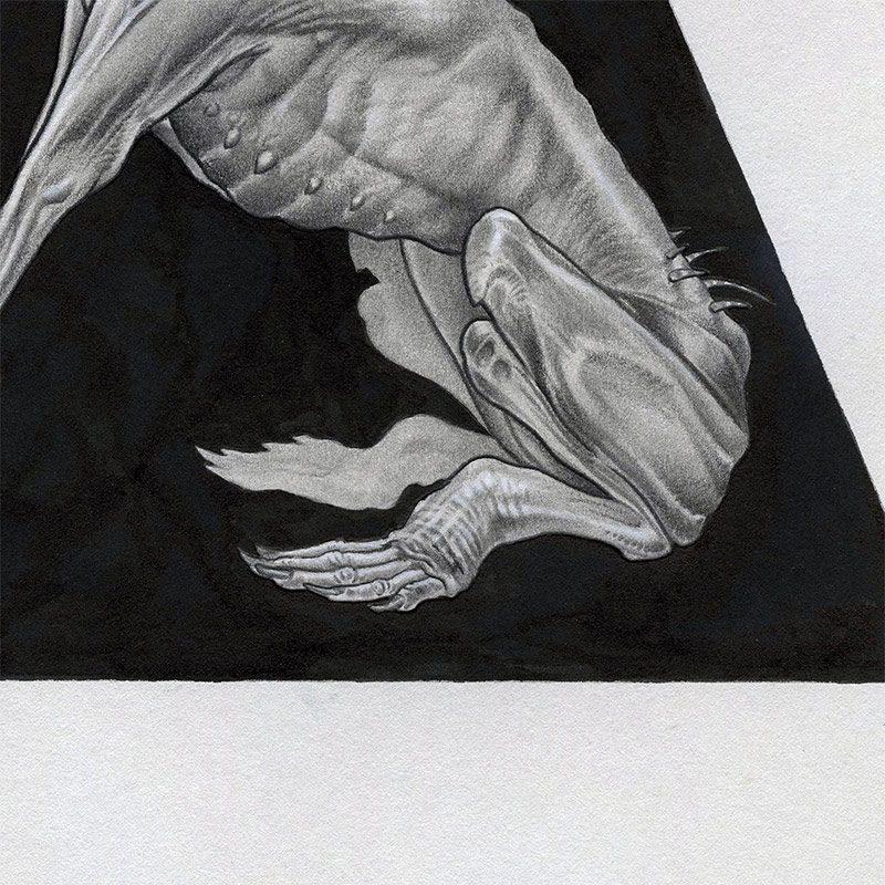 Mate Jako - Hound of Tindalos (Detail 2)