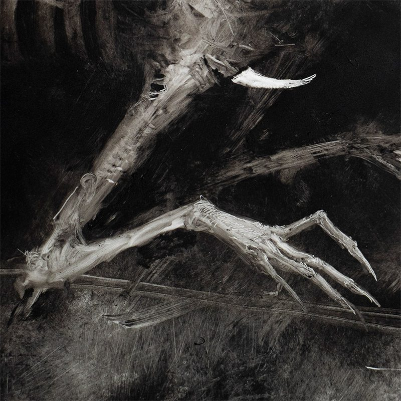 Sam Araya - The Siren and the Moon (Detail 2)