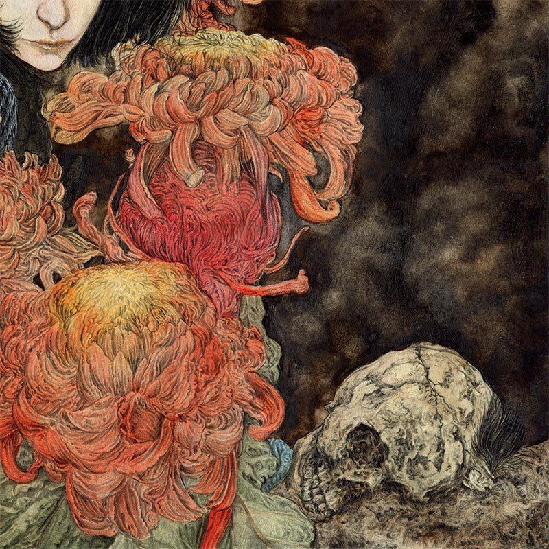 Zakuro Aoyama - A Rotten Pome and a Bird (Detail 2)