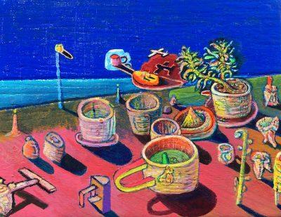 Andrew Abbott - Natalias Pottery Dyson Plant Sunset