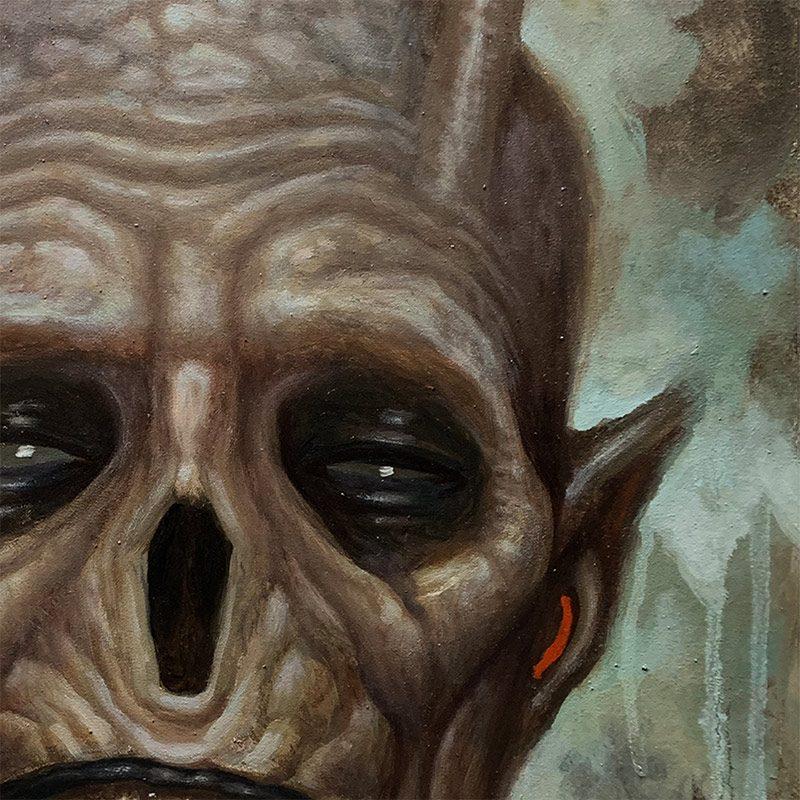 Chet Zar - A Demonic Interlude (Detail 1)